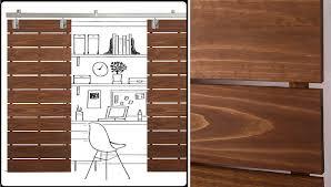 wood slat wood slat sliding door
