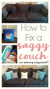 How To Make Slipcovers For Couches Best 25 No Sew Slipcover Ideas On Pinterest Couch Cushion