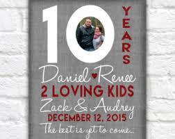 10 year wedding anniversary gift anniversary gifts wanderingfables