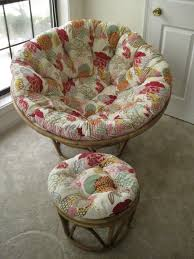 furniture furniture vintage design papasan chair cushion pier one