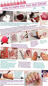 indian ocean polish how to make your own nail decals tutorial