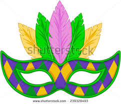 mardi mask mardi gras mask design stock vector 239328493