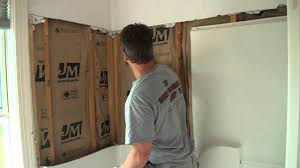 how to tear out a fiberglass tub and shower youtube