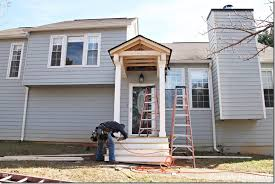Dormer Over Front Door Building A Front Portico Southern Hospitality
