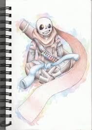 of darkness by pastelumbreon on ink sans color pencil by pastelumbreon on deviantart