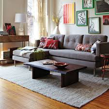 West Elm Sectional Sofa Living Room Sofa Maybe