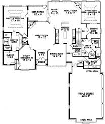 5 Bedroom House Plans by Emejing 5 Bedroom House Plans With 2 Master Suites Contemporary