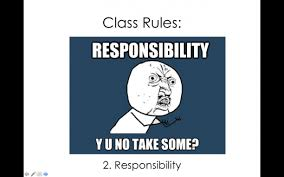 Classroom Rules Memes - first day of school activity and meme powerpoint to go over syllabus