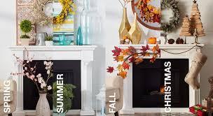 Mantel Decorating Tips Mantel Decorating Ideas By Season Overstock Com