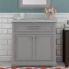 One Sink Bathroom Vanities by Darby Home Co Colchester 30