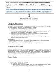 instructor u0027s manual macroeconomics principles applications and