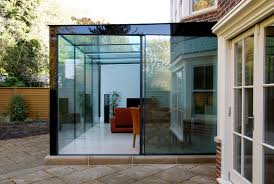 modern kitchen extensions expert advice planning a modern glass extension your home