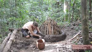 How To Build A Stump by Primitive Technology Building A Charcoal Kiln Recoil Offgrid