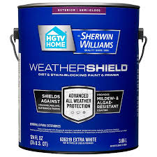 shop hgtv home by sherwin williams weathershield tintable semi