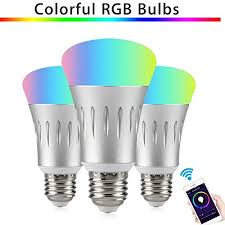 light bulbs that work with amazon echo wifi light bulbs smart light led party lights work with amazon