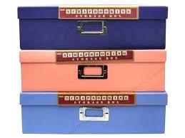 pioneer jumbo scrapbook storage box scrapbooking storage boxes kitchen stacking storage boxes divided