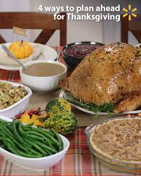 breaking your thanksgiving planning into several days can free up