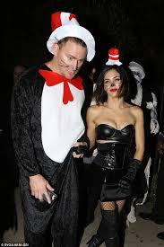 Cat Hat Halloween Costume Jenna Dewan Tatum Wears Cat Hat Costume George