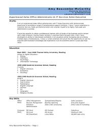 Information Technology Resume Objective System Administrator Resume Example Vinodomia Network Skills