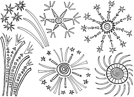 new year fireworks coloring pages getcoloringpages com