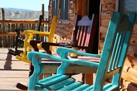 Big Rocking Chair In Texas Big Bend National Park Lodging Big Bend Texas Lodging
