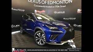 blue lexus nx blue 2018 lexus nx 300 f sport series 1 review youtube