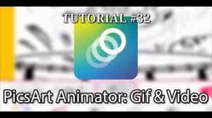 aplikasi android membuat animasi gif tutorial dasar menggunakan aplikasi picsart animator tutorial