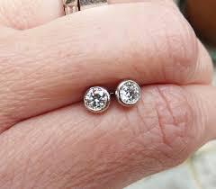 what size diamond earrings should i buy best of jewelry diamond earrings stud jewellry s website