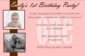 personalised birthday photo invitations design 3