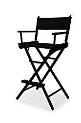 Quest Directors Chair Side Table Portable Makeup Chair W Side Table Be Beautiful Pinterest