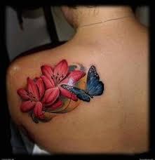 28 awesome butterfly tattoos with flowers that nobody will tell