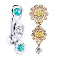 belly button rings navel rings freshtrends