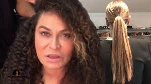real hair ms tina shows beyonce s hair haters will say