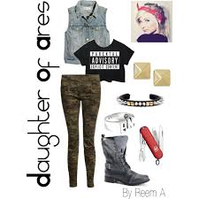 Ares Halloween Costume Daughter Ares Casual Cabin 5 Percy Jackson Inspired