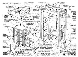 kitchen cabinet building plans monsterlune