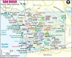 Ca Counties Map Map Of San Diego County Printable Map Of San Diego County