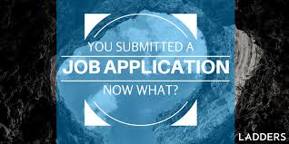 you submitted a job application what next ladders