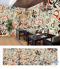wallpaper for entire wall retro newspaper theme space entire room wallpaper wall mural decal