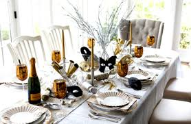 dinner table decoration ideas karin lidbeck new years party decor dinner table decoration