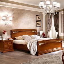 5ft Bed Frame Treviso Pediera Ornate Cherry Wood 5ft Bed Frame F D Interiors Ltd
