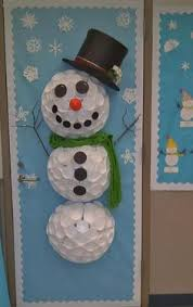 Door Decorations For Winter - classroom snowman craft for door pin it online scavenger hunt