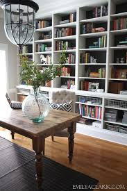 Wooden Bookshelves Pictures by Best 25 Built In Shelves Ideas On Pinterest Built In Cabinets