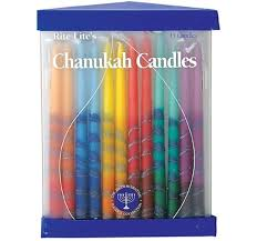 hanukkah candles colors hanukkah candles menorah