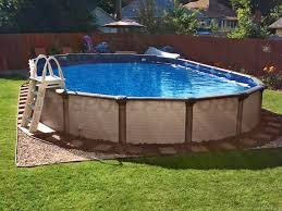 Backyard Above Ground Pools by Melenia Swimming Pool Gallery The Pool Factory