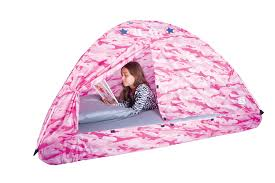 pink camo bed tent twin size pacific play tents