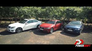2009 audi a4 vs bmw 3 series audi a4 vs mercedes c class vs bmw 3 series review