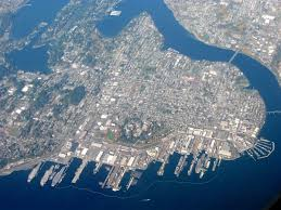 Bremerton Washington Map by Bremerton Washington Wikipedia