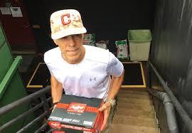 cleveland indians umpires room attendant jack efta inside look