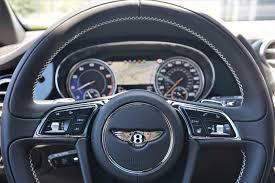 bentley bentayga interior black new 2018 bentley bentayga black edition northbrook il steve foley