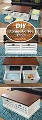 Storage Coffee Table by Best 10 Coffee Table Storage Ideas On Pinterest Coffee Table